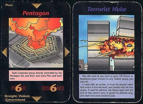 illuminati card game pentagfon and towers