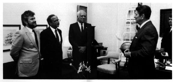 reagan meeting with contra leaders